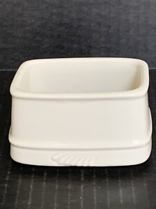 Hall China Sugar Packet Caddy Holder 3383 White  Made In USA