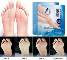 2 Pairs Exfoliating Foot Mask AFY Baby Skin Feel Remove Hard Dead Skin Remover