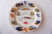 1965 - 1990 Tynsley Marshalling Yard Commerative Railway China Plate Railwayana