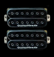 Guitar Parts GUITARHEADS PICKUPS HEXBUCKER HUMBUCKER - 7 STRING - SET 2 - BLACK