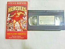 Hercules 1958 VHS Steve Reeves