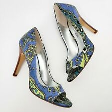 Marc Fisher Paisey Peep Toe Heels Size 7.5 M