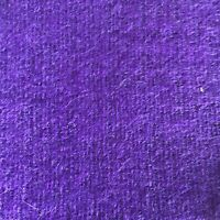 "Vintage Fabric - 1 1/2 Yards X 32"" W - Solid Plain Purple"