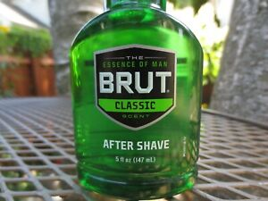 Brut Classic Scent After Shave The Essence of Man Cologne 5 Oz New Full Bottle