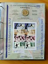Numisblatt 1/2009      12.  IAAF Leichtathletik WM Berlin 2009