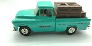 1955 Chevy Cameo Pickup Toy Truck ERTL Bank Licensed by GM Played with Condition