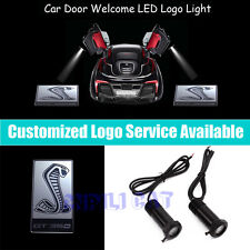 3D Cobra Logo Car Door Welcome Projector LED Light for New  Shelby GT350