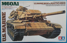 TAMIYA U.S.MARINE M60A1 with Reactive Armor Nr.: 35157 1:35
