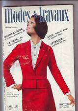 modes et travaux 819 - mars 1969 -