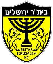 "Beitar Jerusalem FC Israel Football Soccer Car Bumper Sticker Decal 4""X5"""