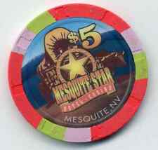 MESQUITE STAR CASINO  $5  CHIP MESQUITE, NV