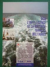 1994 PUB DCN DGA SHIPBUILDING CONSTRUCTION NAVALE MARINE NATIONALE NAVIES AD