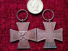 Riproduzione Copia PRIMA GUERRA MONDIALE Ceco Commemorativa Croce per Volunteers