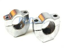 Mini Pocket Dirt Bike HandleBar Fork Clamps Riser 47cc 49cc RX1 Coolster V CL15