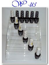 Nail Polish Table Rack Acrylic Display hold up to 36 bottles /OPI, ESSIE,CHINA..