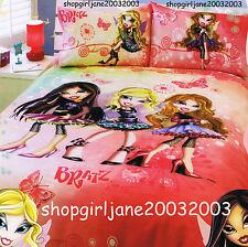 Bratz - Fashion Pixiez - Double/US Full Bed Quilt Doona Duvet Cover Set