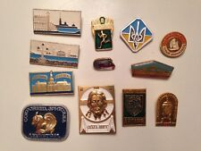 LOT BADGES - BROCHES SPECIAL RUSSIE
