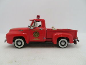 Matchbox Collectibles MOY 1955 Ford F-100 Fire Truck Diecast Car