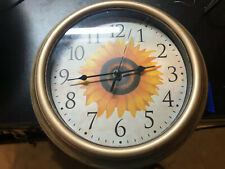 Anytime Wall Flower Clock Battery Powered