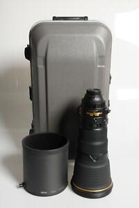 Nikon Nikkor AF-S 400mm f2.8 E FL ED VR Lens 400/2.8 AFS #184