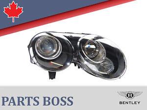 Bentley Continental GT GTC 2010-2011 Headlight Xenon NEW LHD RH 3W1941016AD
