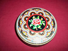 """VINTAGE ~ """"ENGLISH FLOWER"""" TIN!    EXCELLENT COND!    BUY IT NOW!   SALE!"""