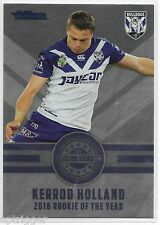 2017 NRL Traders Club Hero (CH 6/32) Kerrod HOLLAND Bulldogs