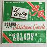 Polish Carols Christmas LIL WALLY Polka 33 rpm lp Vinyl Record Jay Jay STEREO