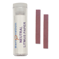 Neutral Litmus Paper Vial Of 100 Test Strips