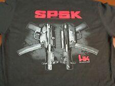 HECKLER & KOCH SP5K MP5 T  SHIRT   MEDIUM BLACK TEE    L17