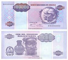 Angola 100,000 KWANZAS (100000) 1995 P-139 BANCONOTE UNC