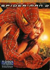 Spider-Man 2 DVD 2004 2 Discs Set Special Edition Widescreen Brand New Sealed