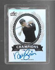 2011 Leaf Metal Golf - NATALIE GULBIS - Prismatic Autograph - LPGA #d 03/50