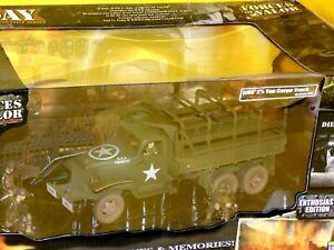 M35 2.5 Tonelada Camión Eu Ejército Con/3 Figura Fuerzas De Valor 80255 1 :3 2