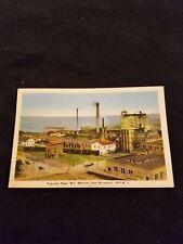 Pulp and Paper Mill Bathurst New Brunswick - Old Postcard Unused