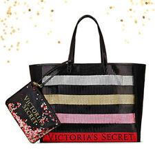 Victoria's Secret Tote Bag Bling Sequin Pouch 2017 Black Friday Limited Edition