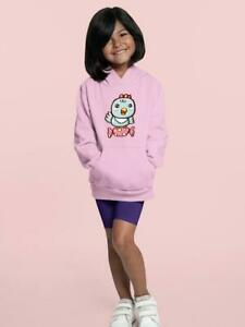 Cute Bird On A Candy Hoodie -Image by Shutterstock