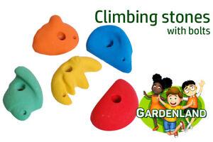 kids LARGE resin CLIMBING STONES ROCKS holds HANDLES FOR CHILDREN PLAYHOUSE