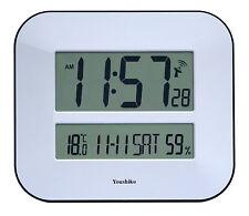 Reloj De Pared Jumbo LCD Radio Control MSF Digital (Reino Unido e Irlanda versión)