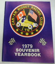 Can-Am Midget Racing Club Brochure Magazine 1979 Souvenir Yearbook 081415R