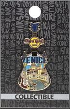 Hard Rock Cafe VENICE 2017 City Tee T-Shirt GUITAR Series V17 PIN on Card #94758