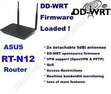 ASUS RT-N12 Wireless N300 Router with DD-WRT VPN Firmware,Can SETUP VPN service