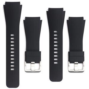 Genuine Silicone Watchband Band Strap for Samsung Galaxy Watch SM-R800 R805 46mm