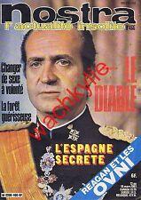Nostra n°466 du 12/03/1981 Le Diable Espagne Juan Carlos Reagan OVNI