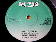"STEAM MACHINE - WHITE SHARK  7"" VINYL"