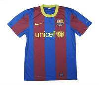Barcelona 2010-11 Authentic Home Shirt (Fair) M Soccer Jersey