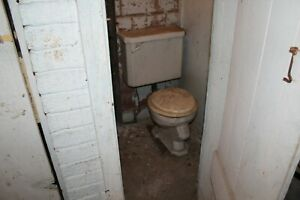 1923 antique toilet for restoration