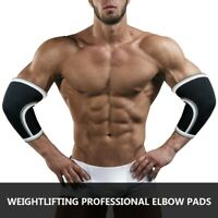 Weight Lifting Elbow Compression Sleeves Gym Powerlifting Arm Brace Support Pads