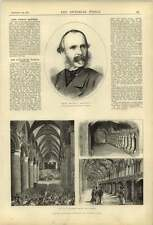 1874 Lord George Manners Gloucester Music Festival French Beggars Henpecked Husb