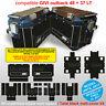 Kit adesivi valigie GIVI 48 + 37 LT NERO ANTIGRAFFIO total black fino al 2017